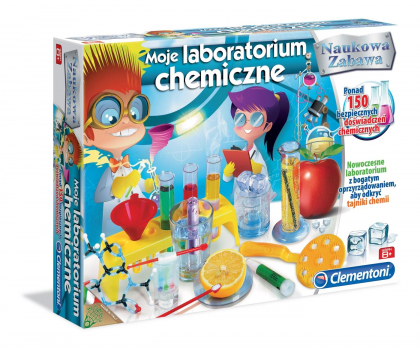 Clementoni Moje laboratorium chemiczne -314014 - Zdjęcie 3