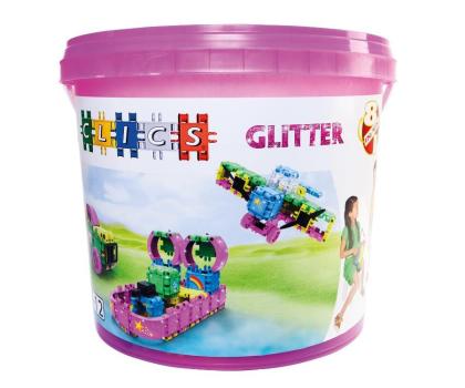 CLICS Wiaderko 8 w 1 - Glitter-404962 - Zdjęcie 1