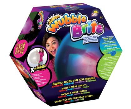 Cobi Wubble Bańkopiłka Super Świecąca Kolorowa-363316 - Zdjęcie 1