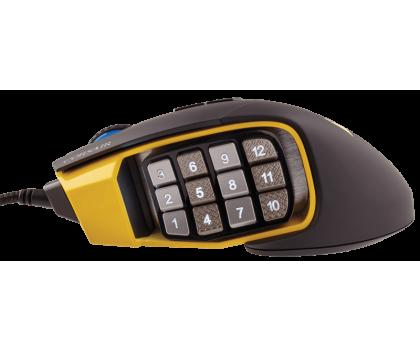 Corsair Scimitar (RGB, czarno-żółta)-321291 - Zdjęcie 5