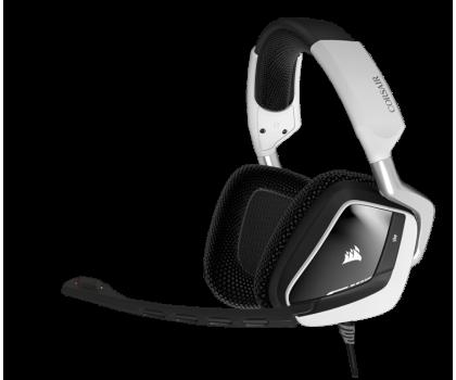Corsair VOID RGB USB Dolby 7.1 Gaming Headset (białe) -321356 - Zdjęcie 1