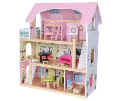 ECOTOYS Domek dla lalek Rezydencja bajkowa-414306 - Zdjęcie 1