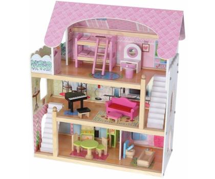 ECOTOYS Domek dla lalek Rezydencja bajkowa-414306 - Zdjęcie 2