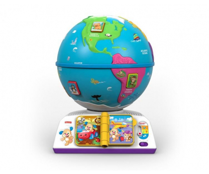 Fisher Price Edukacyjny Globus Odkrywcy-326694 - Zdjęcie 3