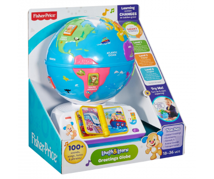 Fisher Price Edukacyjny Globus Odkrywcy-326694 - Zdjęcie 6