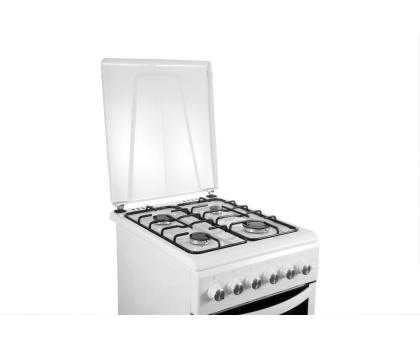 Haier CSGF56MEW gazowo-elektryczna biała 50cm-296034 - Zdjęcie 5