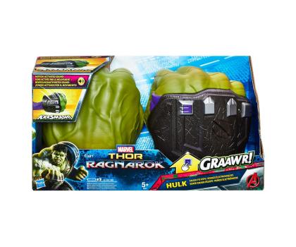 Hasbro Disney Marvel Thor Elektroniczne rękawice Hulka-399650 - Zdjęcie 3