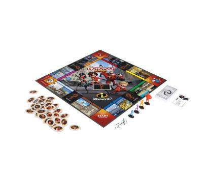 Hasbro Monopoly Junior Iniemamocni 2-450900 - Zdjęcie 2