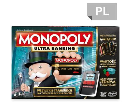 Hasbro Monopoly Ultra Banking-325295 - Zdjęcie 1