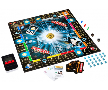 Hasbro Monopoly Ultra Banking-325295 - Zdjęcie 3