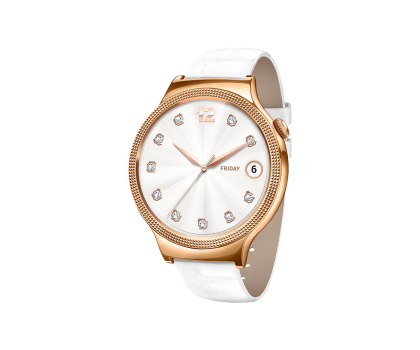 Huawei Lady Watch Golden+White leather-418422 - Zdjęcie 1