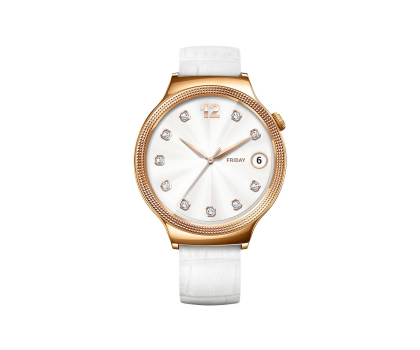 Huawei Lady Watch Golden+White leather-418422 - Zdjęcie 2