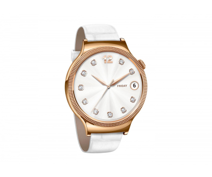 Huawei Lady Watch Golden+White leather-418422 - Zdjęcie 3