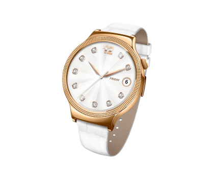 Huawei Lady Watch Golden+White leather-418422 - Zdjęcie 4