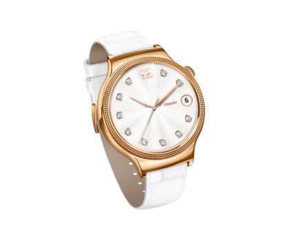 Huawei Lady Watch Golden+White leather-418422 - Zdjęcie 5