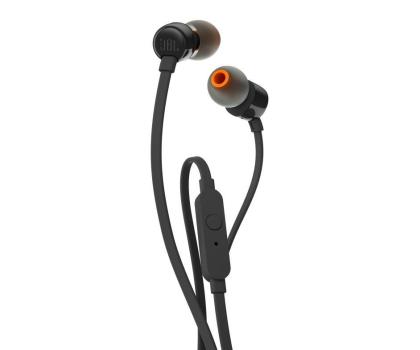 JBL T110 PureBass słuchawki dokanałowe czarne -363604 - Zdjęcie 2