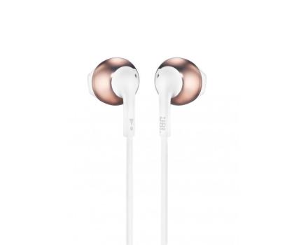 JBL T205 słuchawki douszne różowe złoto-390107 - Zdjęcie 1