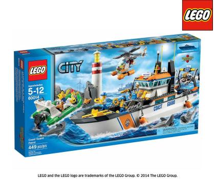 LEGO City Patrol straży przybrzeżnej-157048 - Zdjęcie 1