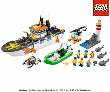 LEGO City Patrol straży przybrzeżnej-157048 - Zdjęcie 2