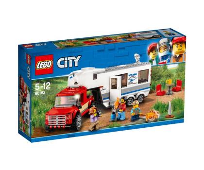 LEGO City Pickup z przyczepą-394058 - Zdjęcie 1