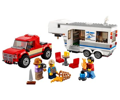 LEGO City Pickup z przyczepą-394058 - Zdjęcie 2