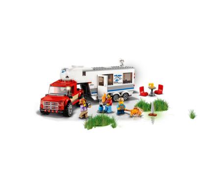 LEGO City Pickup z przyczepą-394058 - Zdjęcie 3
