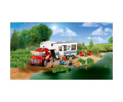 LEGO City Pickup z przyczepą-394058 - Zdjęcie 5