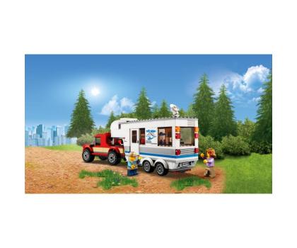 LEGO City Pickup z przyczepą-394058 - Zdjęcie 6