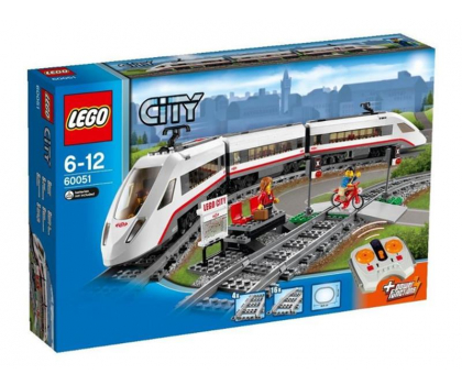 LEGO City Superszybki pociąg pasażerski -231979 - Zdjęcie 1