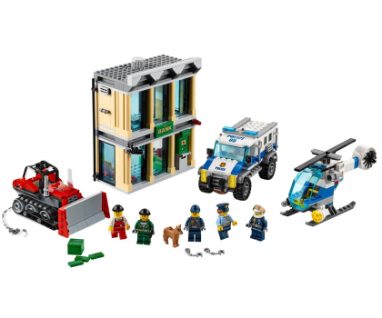 LEGO City Włamanie buldożerem-343684 - Zdjęcie 3