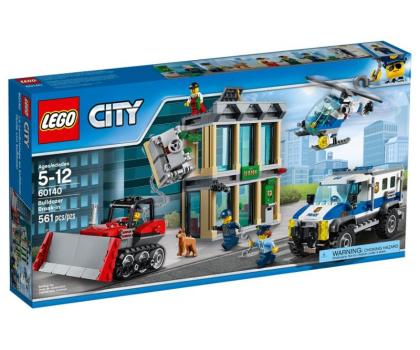 LEGO City Włamanie buldożerem-343684 - Zdjęcie 1