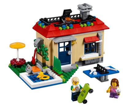 LEGO Creator Wakacje na basenie-362468 - Zdjęcie 3