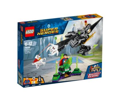 LEGO DC Comic Super Heroes Superman i Krypto łączą siły-395184 - Zdjęcie 1