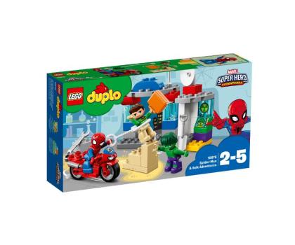 LEGO DUPLO Przygody Spider-Mana i Hulka-395117 - Zdjęcie 1