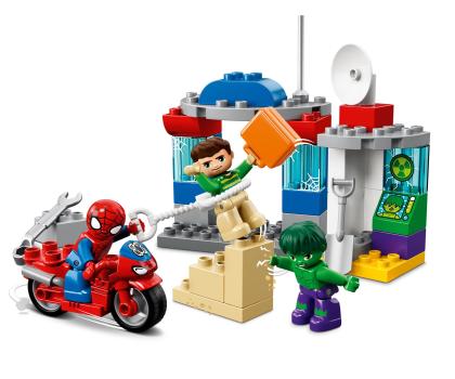 LEGO DUPLO Przygody Spider-Mana i Hulka-395117 - Zdjęcie 2