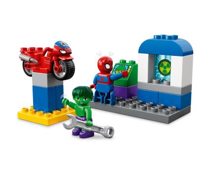 LEGO DUPLO Przygody Spider-Mana i Hulka-395117 - Zdjęcie 3