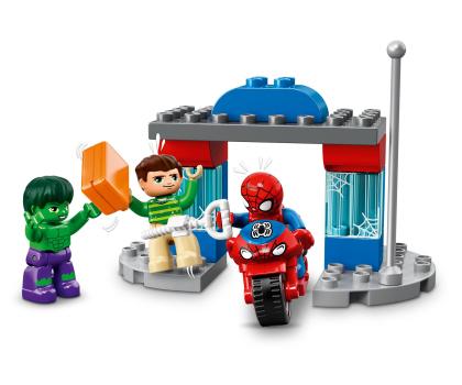 LEGO DUPLO Przygody Spider-Mana i Hulka-395117 - Zdjęcie 4