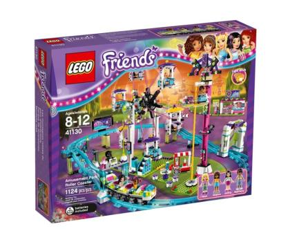 LEGO Friends Kolejka górska w parku rozrywki-318259 - Zdjęcie 1