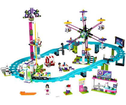 LEGO Friends Kolejka górska w parku rozrywki-318259 - Zdjęcie 3