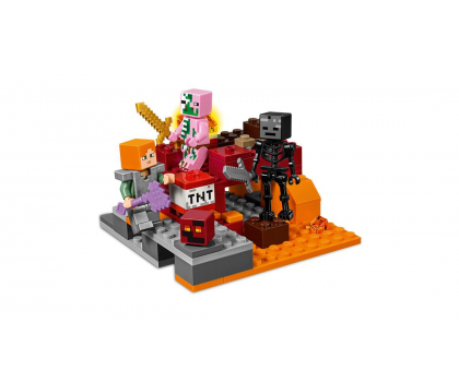 LEGO Minecraft Walka w Netherze-395133 - Zdjęcie 3