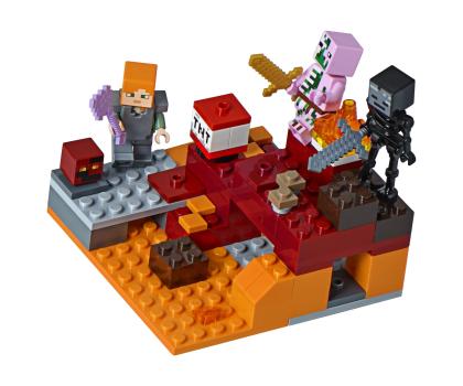 LEGO Minecraft Walka w Netherze-395133 - Zdjęcie 2