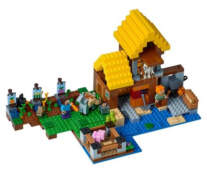 LEGO Minecraft Wiejska chatka-395138 - Zdjęcie 2
