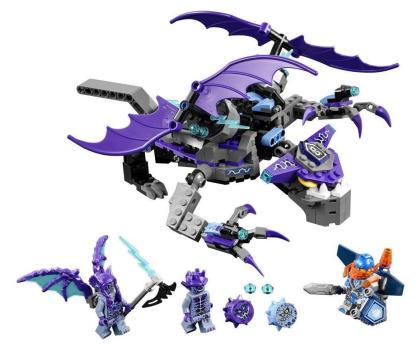 LEGO Nexo Knights Niszczycielski Kamienny Kolos-362899 - Zdjęcie 2