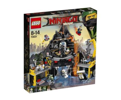 LEGO NINJAGO Movie Wulkaniczna kryjówka Garmadona-391599 - Zdjęcie 1