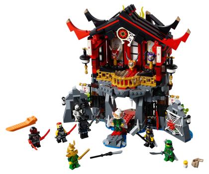 LEGO Ninjago Świątynia Wskrzeszenia-395161 - Zdjęcie 2