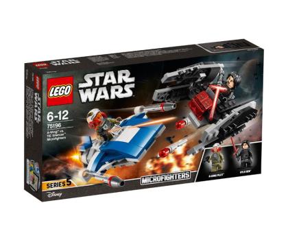 LEGO Star Wars A-Wing kontra TIE Silencer-395166 - Zdjęcie 1