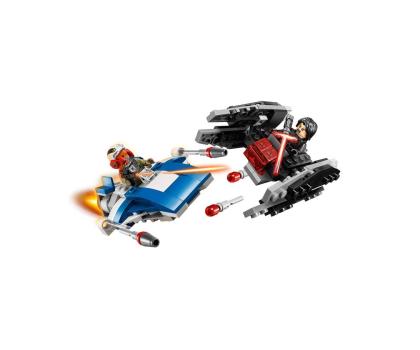 LEGO Star Wars A-Wing kontra TIE Silencer-395166 - Zdjęcie 2