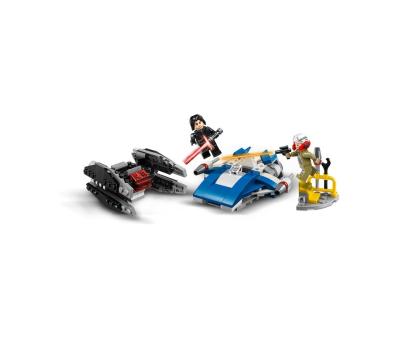 LEGO Star Wars A-Wing kontra TIE Silencer-395166 - Zdjęcie 3