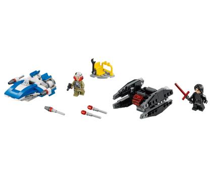 LEGO Star Wars A-Wing kontra TIE Silencer-395166 - Zdjęcie 4