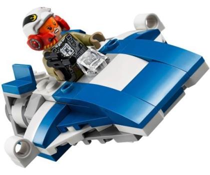LEGO Star Wars A-Wing kontra TIE Silencer-395166 - Zdjęcie 6